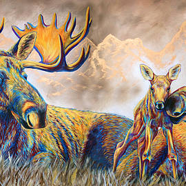 Teshia Art - Moose Meadows