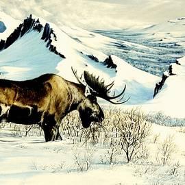 Bob Patterson - Moose Ridge First Snow