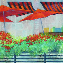 Sharon Nelson-Bianco - More Red Umbrellas