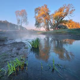 Stanislav Salamanov - Morning at the river