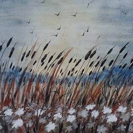 David K Myers - Morning in Cattails