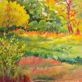 Barbara Moak - Morning Light at Bay Pines