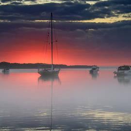 HH Photography of Florida - Morning Mist - Florida Sunrise