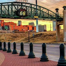Gregory Ballos - Morning on the Mother Road - Tulsa Oklahoma