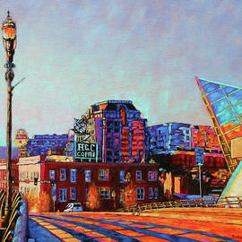 Bonnie Mason - Morning Rush - the corner of Salem Avenue and Williamson Road in Roanoke Virginia