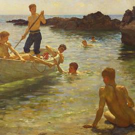 Henry Scott Tuke - Morning Splendour
