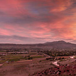 Robert Bales - Morning View Over Emmett Valley