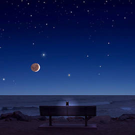 Kathleen Horner - Moro Bay Celestial Sky