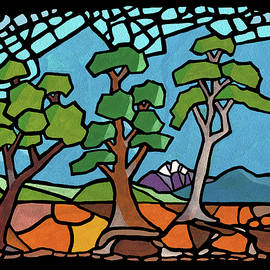 Anthony Mwangi - Mosaic Trees