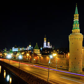 Alexey Stiop - Moscow Kremlin at night