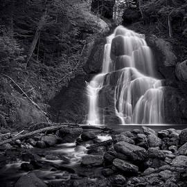 Stephen Stookey - Moss Glen Falls - Monochrome