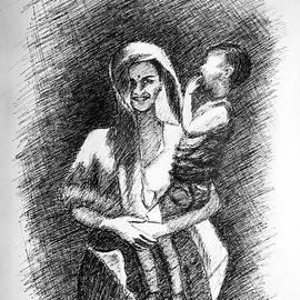 Uma Krishnamoorthy - Mother and child 5