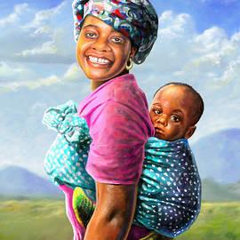 Anthony Mwangi - Mother and Child