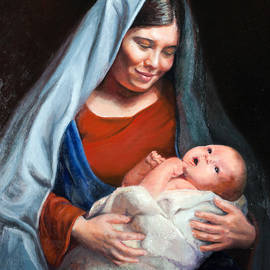 Sister Laura McGowan - Mother and Child