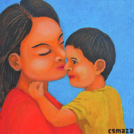 Cyril Maza - Mother and Son