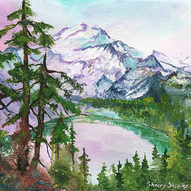 Sherry Shipley - Mount Baker MIrror Lake