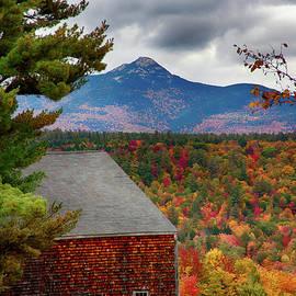 Jeff Folger - Mount Chocorua over the barn