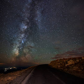Mike Berenson - Mount Evans Road To The Milky Way