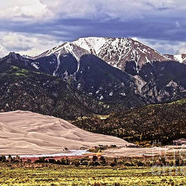Catherine Sherman - Mount Herard and Great Sand Dunes
