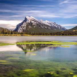 Pierre Leclerc Photography - Mount Rundle from Second Vermilion Lake