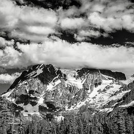 Mount Shuksan Under Clouds - Jon Glaser