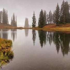 OLenaArt Lena Owens - Mountain Lake in Colorado