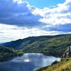 Paul Stout - Mountain Lake on the Vidden Trail