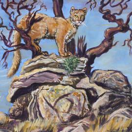 Dawn Senior-Trask - Mountain Lion in the Cedar Breaks