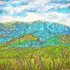 Joel Bruce Wallach - Mountain Range Flowing - Boulder County Colorado