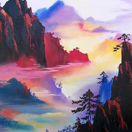 Sharon Duguay - Mountain Top Sunrise