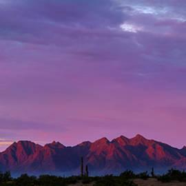 Ed  Cheremet - Mountains at Sunrise