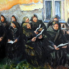 Marta Vass - Mourners