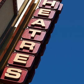 Movie Theatres Sign Picture - Paul Velgos