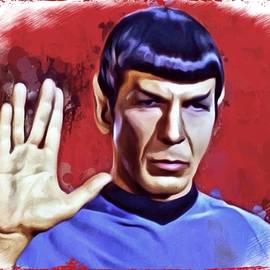 Scott Wallace  - Mr Spock Portrait