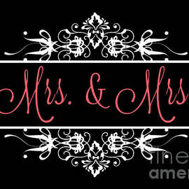 JH Designs - Mrs and Mrs Ornamental Wedding