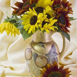 Sandra Foster - Multi Color Sunflowers