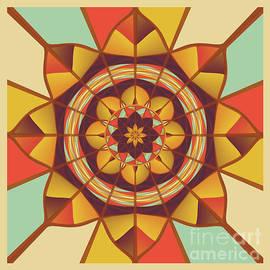 Gaspar Avila - Multicolored geometric flourish