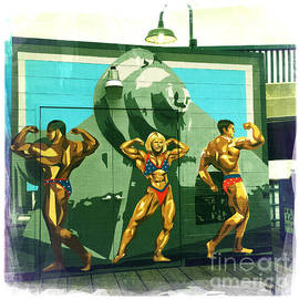 Nina Prommer - Muscle Beach