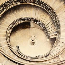 Bidde - Musei Vaticani stair