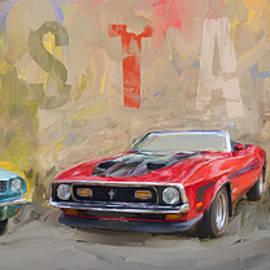 Eduardo Tavares - Mustang Panorama Painting