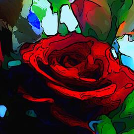 Karen Harding - My Birthday Rose