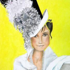 Jayne Somogy - My Fair Audrey -- the original -- Portrait of Audrey Hepburn