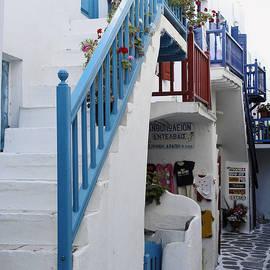 Sally Weigand - Mykonos Buildings