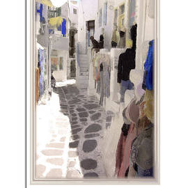 Jonathan Doig - Mykonos Shopping 1