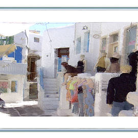 Jonathan Doig - Mykonos Shopping 2