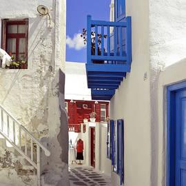 Sally Weigand - Mykonos Walkway