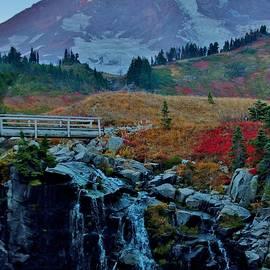 Stacie Gary - Myrtle Falls at Mt. Rainier