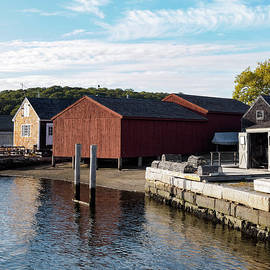 Marianne Campolongo - Mystic River at the Seaport Mystic CT