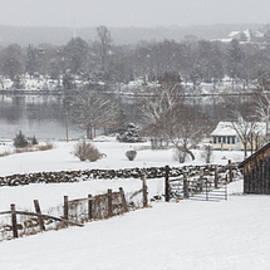 Kirkodd Photography Of New England - Mystic River Winter Landscape