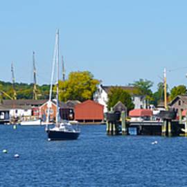 Bill Cannon - Mystic Seaport -  Connecticut Panorama